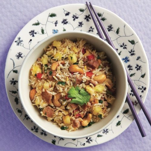 Pineapple-and-Pork Fried Rice