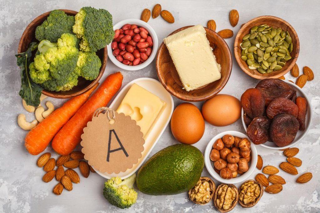 Vitamin A-rich recipes