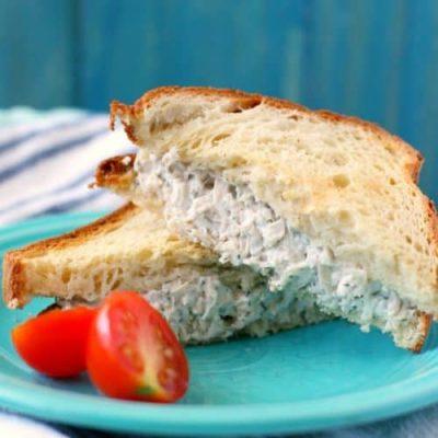 Chicken sandwich summer dinner