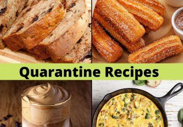 quarantine recipe