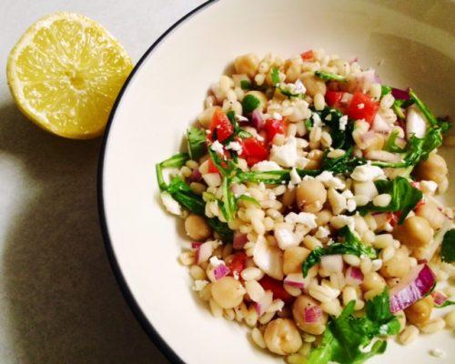 Mediterranan Barley salad