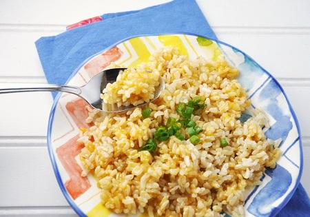 Cheesy Brown Rice