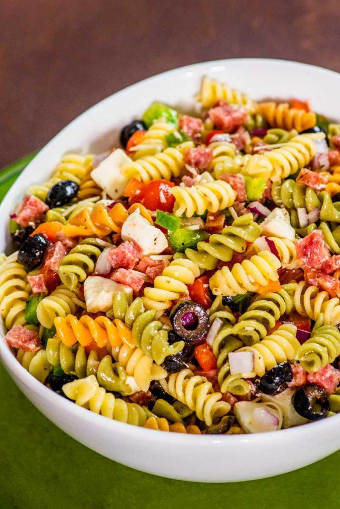 Italian Pasta for summer dinner