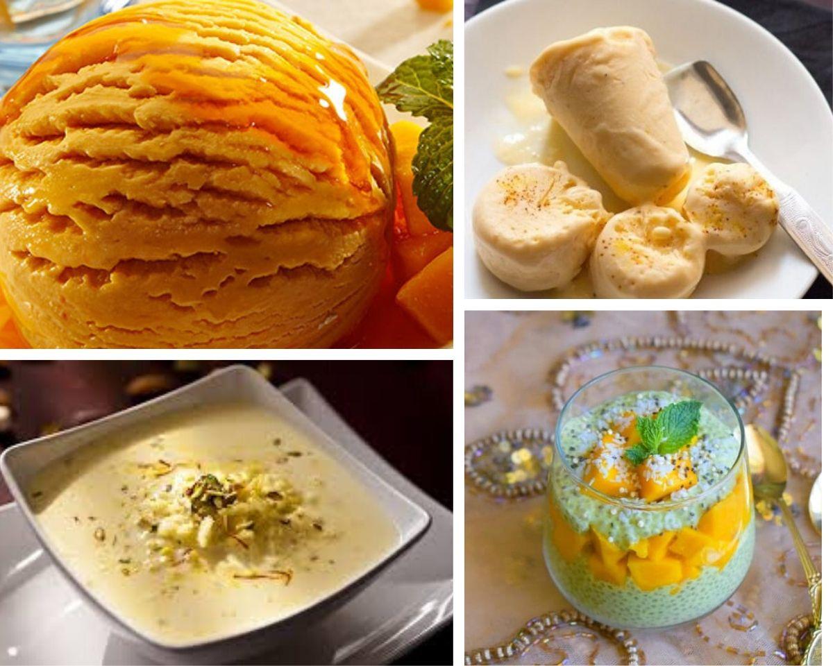 Mango dessert recipe
