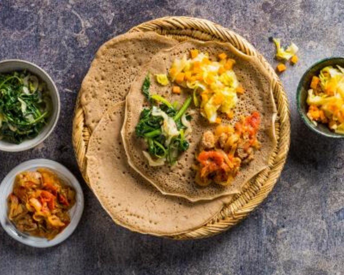 Delicious Eritrean Injera