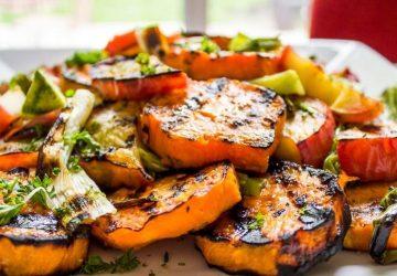 Grilled Sweet Potatoes Recipe