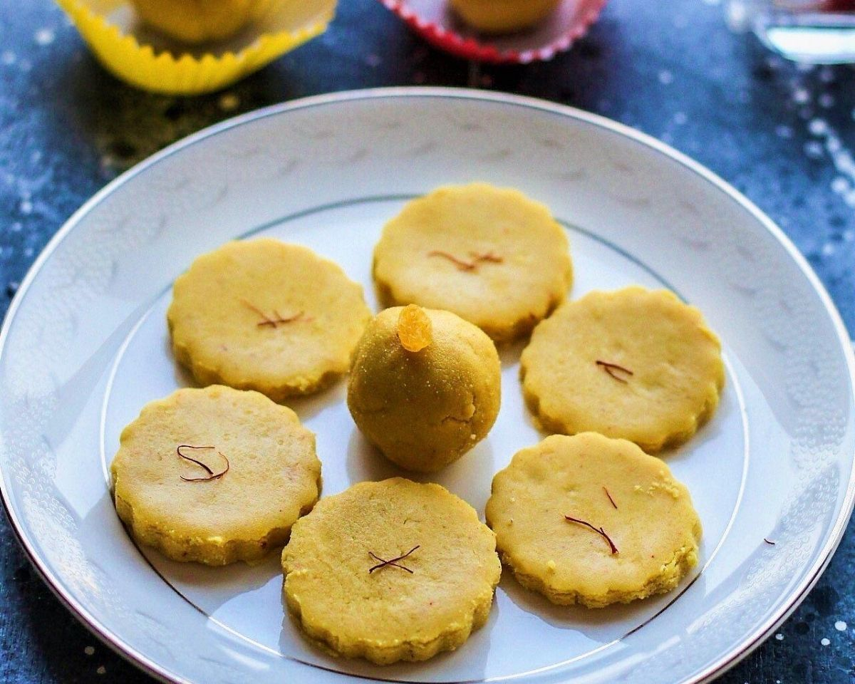 Saffron Paneer Dessert