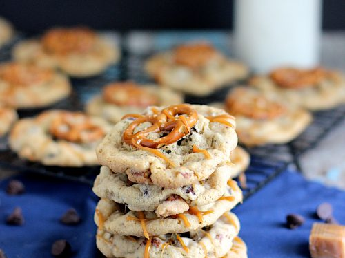Delicious Pretzel Cookies