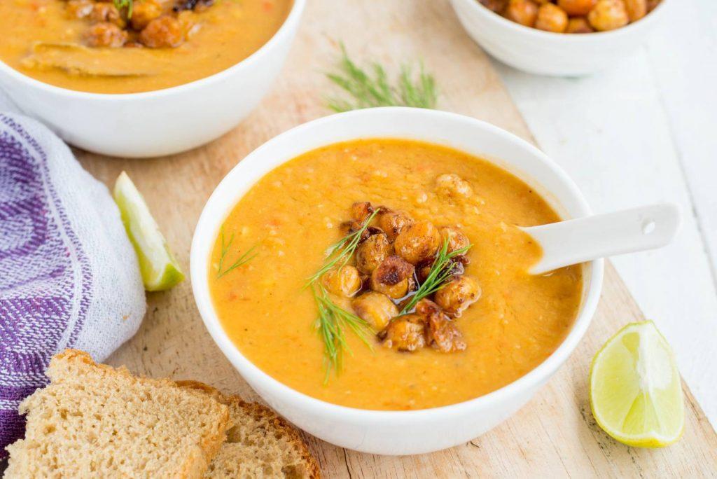 Coconut Milk & Lentil Soup
