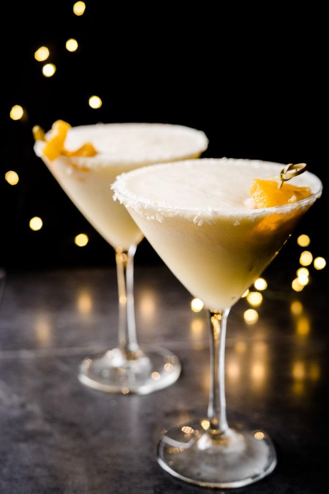 Coconut Milk & Vanilla Party Cocktail