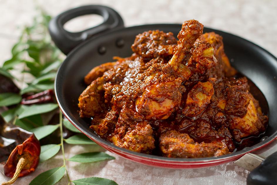 Kerala Style Pepper Chicken