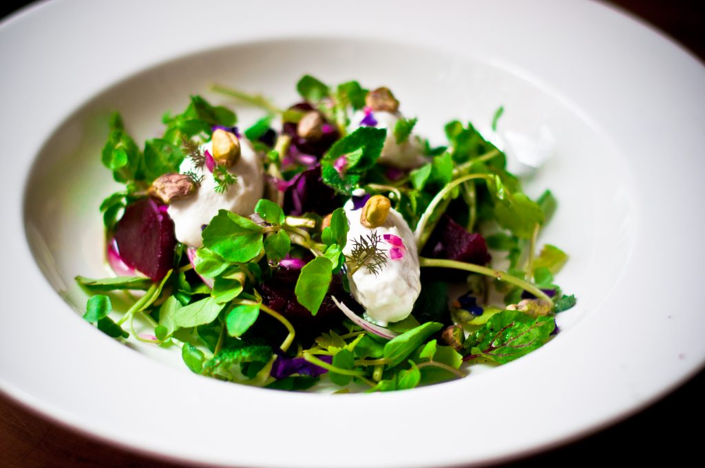 Watercress, Beet and Fennel Salad