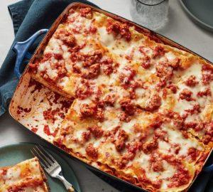 Lasagna Flatbread Recipe