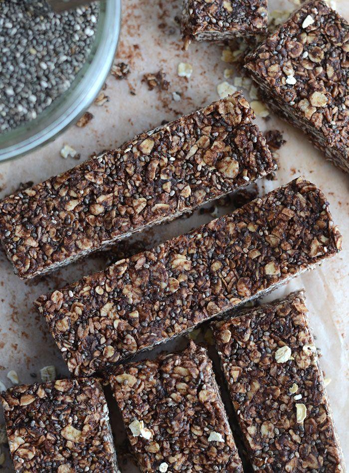 Chocolate Chia Seed Bars