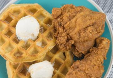 Chicken Eggo Waffle
